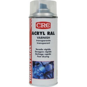 CRC - Barniz Brillante En Spray. Acryl Ral Barniz Transparente 400 Ml