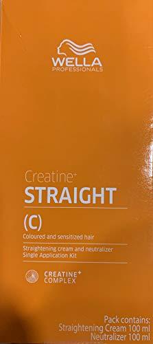 Wella Creatine Straightening Coloured & Sensitized Hair