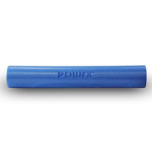 POWRX Yoga-Rolle Eps Material/Pilates-Rolle/Schaumstoff-Rolle/Foam-Roller Faszienrolle (90 x 15 cm)