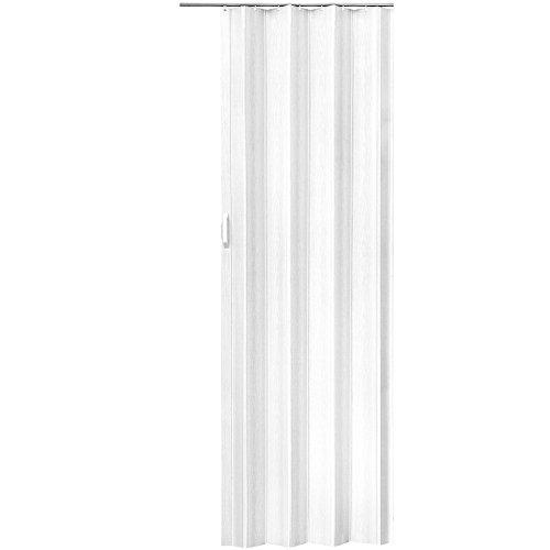 TecTake 800053 - Porta a Soffietto in PVC, Divisorio, Salvaspazio, 80x203 cm- Disponibile in Diversi...