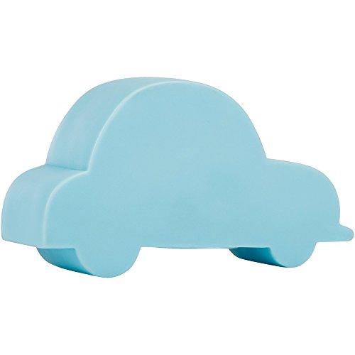 Smartwares IDE-60017, LED-Stimmungslicht für Kinder, Auto-Design, Nachtlicht - batteriebetrieben, Plastik, Blau, 4 x 12, 5 x 7 cm