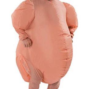 Orion Costumes Disfraz para Adulto Inflable Pavo de Navidad Hornedo