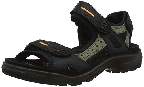 Ecco ECCO OFFROAD, Herren Outdoor Sandale, Schwarz (BLACK/MOLE/BLACK50034), 43 EU (9 Herren UK)