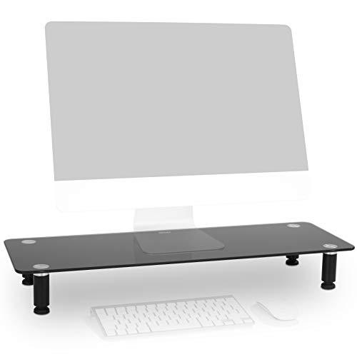 Duronic DM052-4 Supporto Monitor scrivania Supporto da Tavolo Regolabile per Monitor Schermo Laptop...
