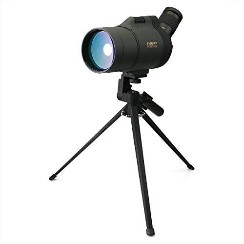 Svbony Sv41 Cannocchiale 25-75x70 Maksutov FMC Bak4 Prisma di Porro Telescopio Monoculare Terrestre...