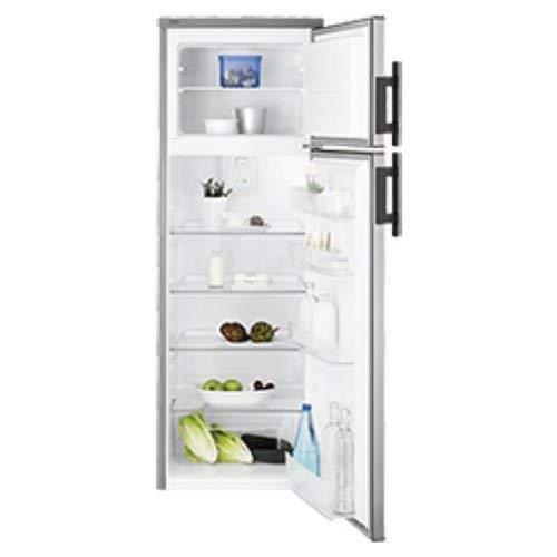 Electrolux - frigorifero a libera installazione a due porte EJ2803AOX2 finitura acciaio inossidabile...