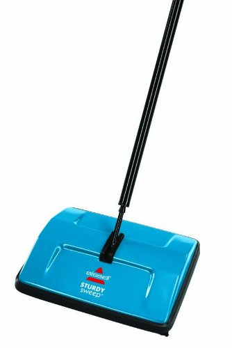 BISSELL 2402E Sturdy Sweep Floor Cleaner - Blue 2  BISSELL 2402E Sturdy Sweep Floor Cleaner – Blue 31F6G6kWYFL