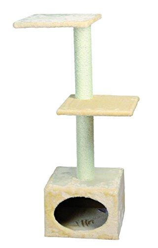 katzeninfo24.de Trixie 43451 Badalona Kratzbaum, 109 cm, beige