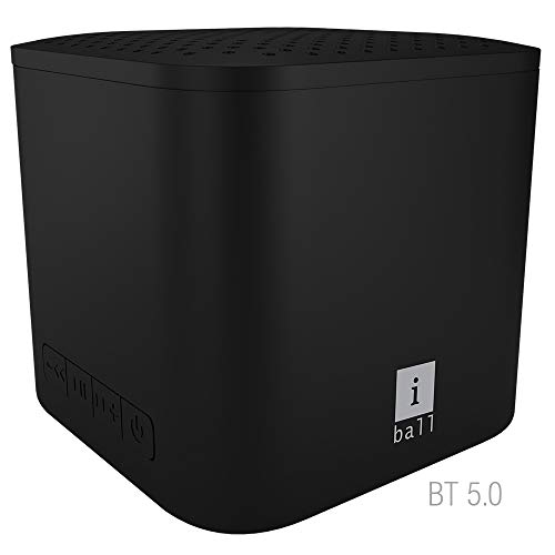 iBall MusiPlay A1 Wireless Ultra-Portable Bluetooth Speakers (Midnight Black)