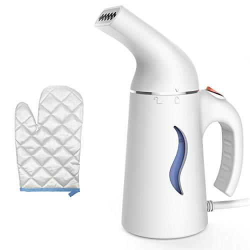 Joywell Plancha Vertical, vaporizador de Ropa, vaporizador de Tela, 180ml Portátil portátil de rápido Calentamiento Mini vaporizador de Viaje con protección