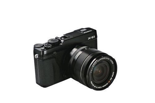 """Fujifilm X-E2 - Cámara EVIL de 16.3 Mp (pantalla 3"""", estabilizador, grabación de vídeo), color negro - Kit con objetivo 18-55 EE TD"""