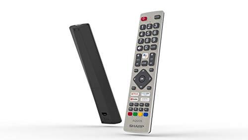 Sharp AQUOS Android 9.0 Google Assistant DTS VirtualX Smart TV Bluetooth Suono Harman Kardon SAT...