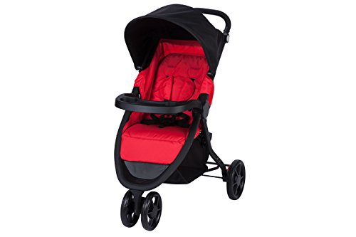 Safety 1st Passeggino Urban Trek Reclinabile, Richiudibile Compatto in Chiusura, 3 Ruote, 0-15 kg, Ribbon Red
