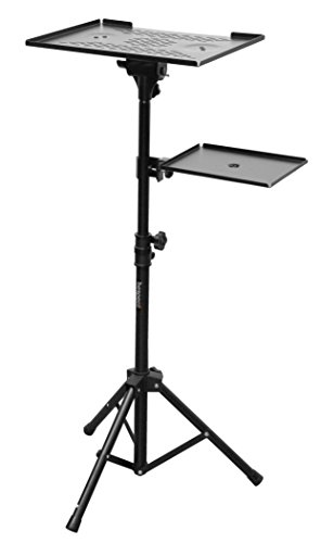 Bespeco LPS100 Laptop and Projector Stand, Black