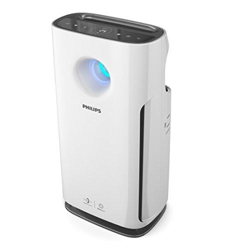 Philips AC3256/10 - Purificador de aire, hasta 95 m², con modo para alérgenos, interfaz de usuario táctil con pantalla, modo ultrasilencioso, filtro HEPA