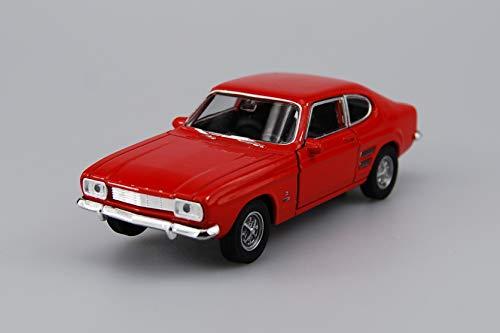 Dromader Welly 1969 Ford Capri Rosso 1:34-1:39 10cm Nuovo in Una Scatola