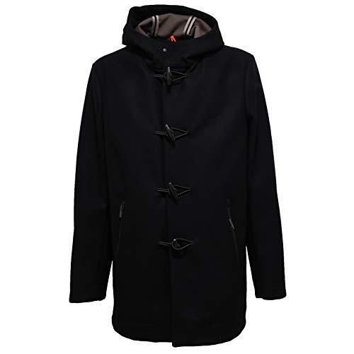 ROBERTO RICCI DESIGNS 6876X Montgomery Uomo RRD Wool Black Jacket Man [54]