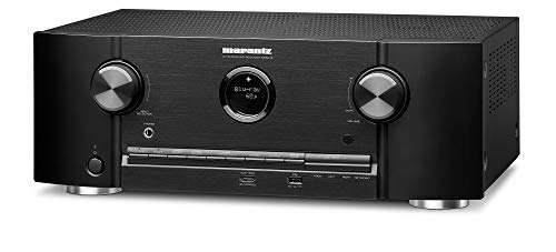 Marantz AV Receiver SR5013-7.2 Channel, IMAX Enhanced, Dolby Atmos Surround Sound -100W / Ch. 2 Zone Power | Amazon Alexa Compatibility & Online Streaming| Works with Home Automation Systems