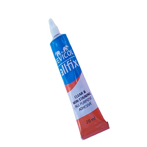 SMPH fevicol All Fix Glue PVC, PU, EVA Rapid Setting is Helpful for Repairing Footwear Material Such as Canvas, Leather (20 ml)