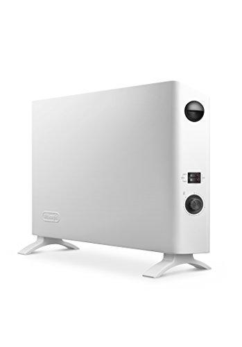 De'Longhi HSX2320F Slim Style Convettore Elettrico, Bianco