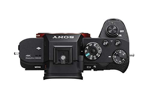"Sony α7R II ILCE-7RM2 - Cámara EVIL de 42.4 megapíxeles, fotograma completo (35mm), ISO 102400, vídeo 4K, pantalla 3"", color negro"