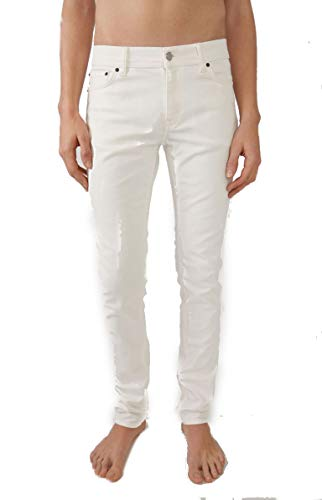 ACNE STUDIOS Herren 30Y176ind Weiss Baumwolle Jeans