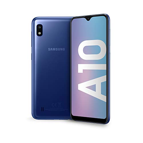 Samsung Galaxy A10 Display 6.2', 32 GB Espandibili, RAM 2 GB, Batteria 3400 mAh, 4G, Dual SIM...