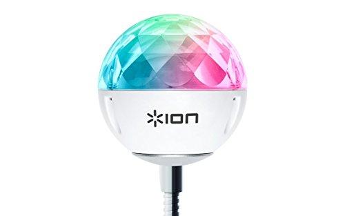 ION Audio Party Ball USB, Sfera Luminosa USB Ultra Compatta Sincronizzabile alla Musica, Ottima per Laptop, TV e Altoparlanti Amplificati Compatibili di ION Audio