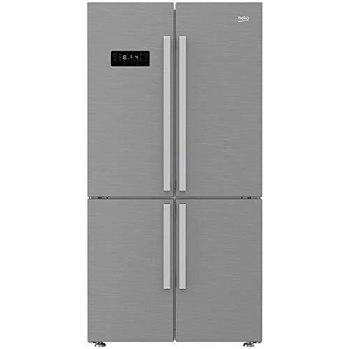 Beko GN1416232ZX Freestanding 541L A++ Stainless steel side-by-side refrigerator - Side-By-Side...