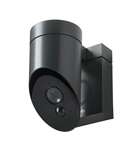 31IUqpmS1IL [Bon Plan Domotique] Somfy 2401563 - Outdoor Camera   Caméra de surveillance extérieure Wifi   1080p Full HD   Sirène 110 dB   3 branchements possibles