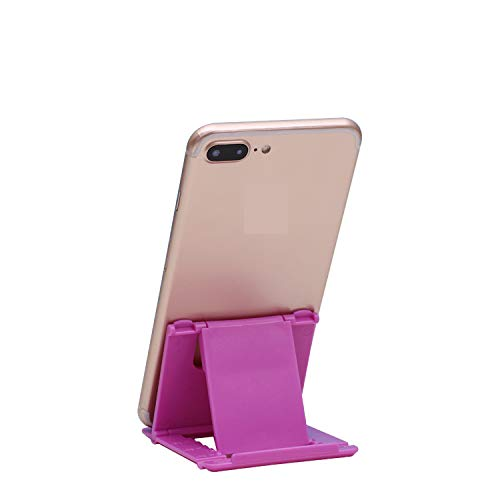 Dot9ti9 Mobile Stand Holder (Pack of 1) Big Size Universal Adjustable 5 Steps Fold-able for All Phone Tablet Desk (Assorted Color) 11