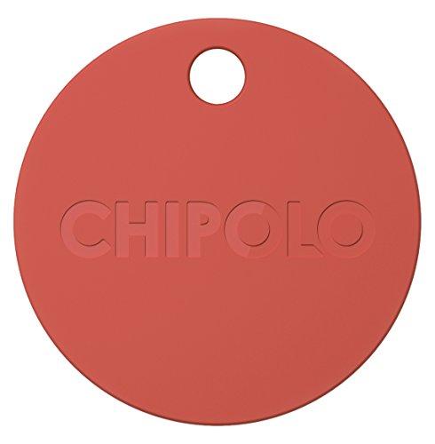 Chipolo CHPM6TRREN - Localizador de objetos, color rojo