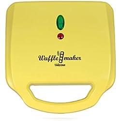 Doppel-Waffeleisen Stiel-Waffeln Waffelautomat Waffel-Backautomat (sparsame 1200 Watt, 2 große viereckige Backflächen + antihaftbeschichtet)