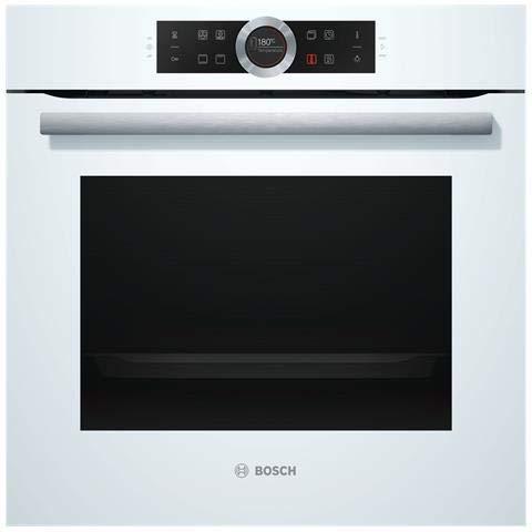Bosch - Forno Elettrico da Incasso Serie 8 HBG633NW1 Capacità 71 L Multifunzione Ventilato Potenza...