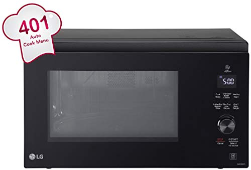 LG 32 L Charcoal Convection Microwave Oven (MJEN326TL, Black)