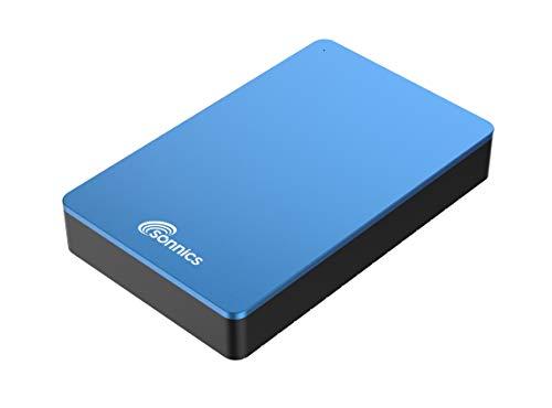 Sonnics - Hard disk esterno da scrivania, USB 3.0, per PC Windows, Mac, Smart TV, Xbox One e PS4 RED...