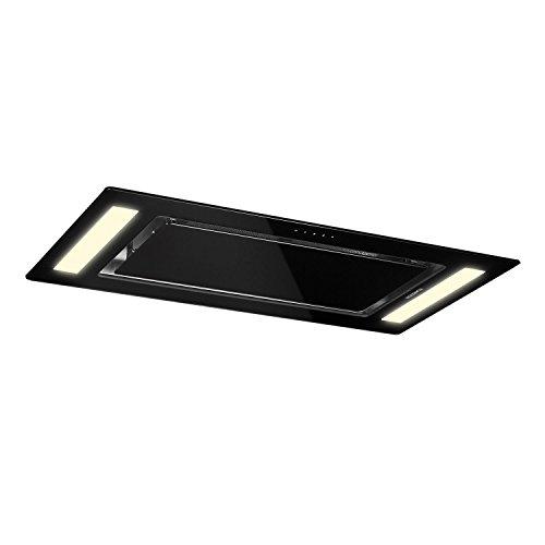 Klarstein Remy • Cappa da Cucina • Aspirante • da soffitto • 90 cm • EEKA 620 m³/h • in...