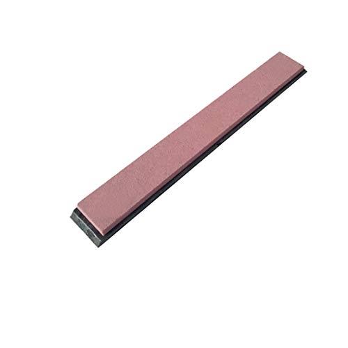 ToDIDAF afilador de piedra de afilar, piedra afiladora doble afiladora de piedra de afilar con base antideslizante, para cuchillos de cocina metálicos o cuchillos de cerámica, 15 x 2 x 0,5 cm
