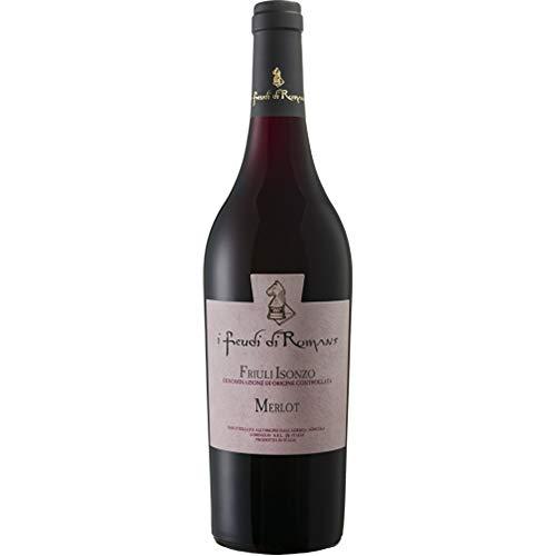 Merlot Doc | Friuli Isonzo | Vino Rosso del Friuli | I Feudi di Romans | Bottiglia 75 Cl | Idea Regalo
