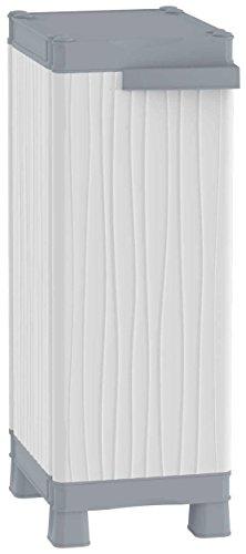 TERRY Base 350 UW Armadio Basso a Colonna in Plastica, Grigio, 35 x 43.8 x 97.6 cm