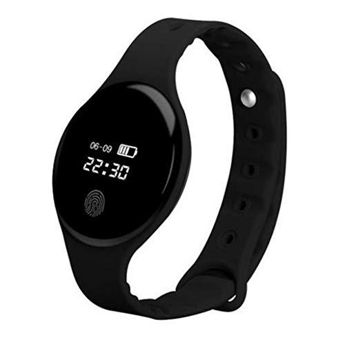 Inteligente Bluetooth Digital Al aire libre Reloj deportivo electrónico Pulsera multifunción Contador de pasos Calorías Podómetro Monitor de sueño Impermeable para hombres Mujeres Niños Adolescentes