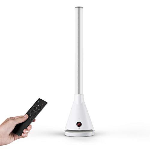 Termoventilatore a Basso Consumo ULTTY, Stufa Elettrica Portatile 2000W & Ventilatore a Torre 30W...