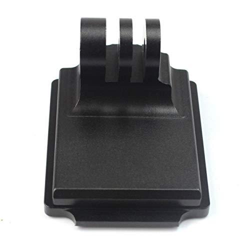 Jiobapiongxin Adattatore Fisso Professionale in Alluminio con Attacco Fisso in Alluminio Adattatore Fisso per videocamera per videocamera Adatto per GoPro 3 NVG Mount (Nero) JBP-X