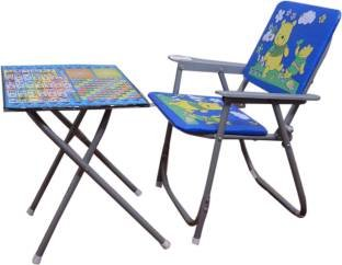 SR Collection Table Chair Set for Kids (Design May Vary), (Colour May Vary)