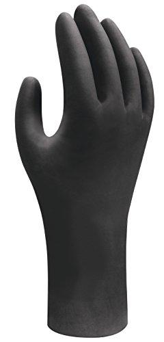 Showa, guanti monouso in nitrile, adatti per contatto con alimenti, privi di polvere, resistenti...