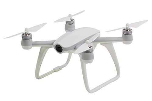 Walkera 15004550-aibao FPV 4K RTF Bianco-FPV-UAV con fotocamera 4K UHD, F8con telecomando, batteria, caricabatteria da auto e App Game