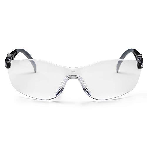 SolidWork Schutzbrille mit integriertem Seitenschutz, sowie beschlagsfreien, kratzfesten und UV Schutzbeschichteten Gläsern