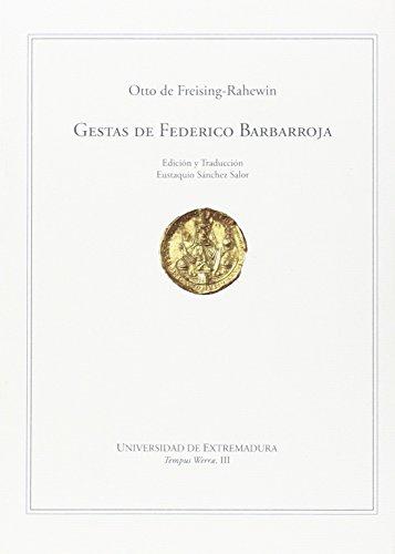 Gestas de Federico Barbarroja (Tempus Werrae)