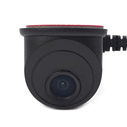 ZHY Telecamera per retrovisione per Auto, Visione Notturna Sensore di Immagini a Colori ad Alta risoluzione Vista Laterale Telecamera grandangolare Impermeabile e Antiurto Telecamera per
