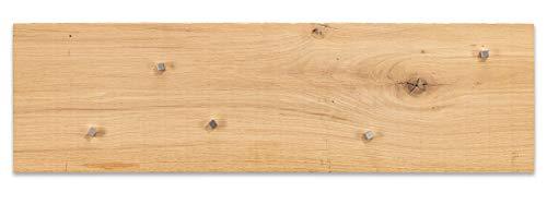 Board Boulevard Holz Lavagna Magnetica in Legno di Rovere, 60 x 50 cm, 600 Anni, in Legno Storico,...
